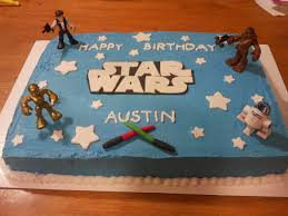 Dragon Ball Z Decorations by Star Wars Cake Ideas Cake Ideas