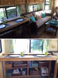 Removing An RV Dinette Booth To Add Storage