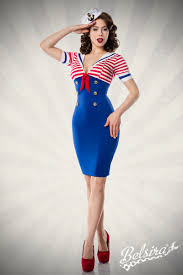 marine dress by belsira worn by ophelia overdose pin up retro