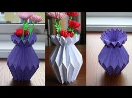 How To Make Beautiful Paper Flower Vase Easy And Can Turn Your Home More If You Liked It Please Subscribe