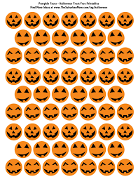 Scary Pumpkin Faces Templates by Easy Halloween Classroom Treats Free Printable