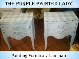 Painting Laminate or Formica Tops of Dressers