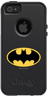 Batman Emblem design on OtterBox muter Case for iPhone SE