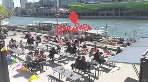 port de la rapee le barapapa la nouvelle terrasse ensoleillée en bord de seine