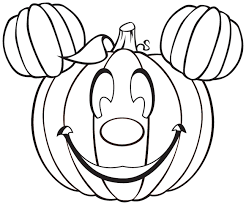Pumpkin Patch Coloring Pages by Halloween Mickey Pumpkin Clipart Panda Free Clipart Images