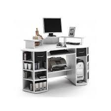 bureaux avec rangement bureau design multi rangement blanc mega achat vente bureau