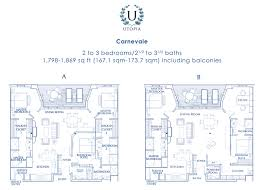 100 Utopia Residences Floor Plans Renderings Regatta