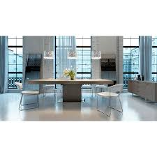 tura dining table and showcase mm goatskin col cuoio for sale at