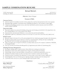 Example Of Excellent Customer Service Resume Thumbnail Highlight Your Skills Servi