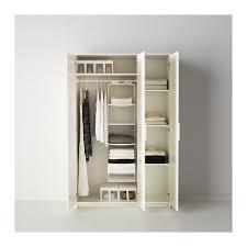 Brusali Wardrobe With 3 Doors by Brimnes Wardrobe With 3 Doors Ikea The Mirror Door Can Be Placed