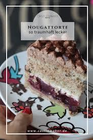 nuss nougat torte mit kirschen castlemaker nougat torte