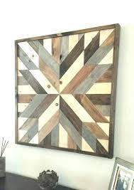 Reclaimed Wood Wall Art Wooden Decoration Ideas Rustic