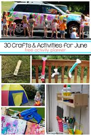 30 Engaging Learning Activities And Fun Crafts For Kids To Do In June Lots Of