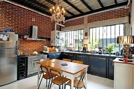cuisines style industriel cuisine style industriel une beautac authentique cuisines dans cet