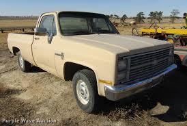 100 1983 Chevrolet Truck Custom Deluxe 10 Pickup Truck Item DC8316