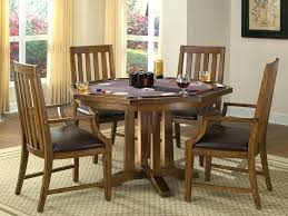 Game Table Chairs Home Styles Arts And Crafts 5 Piece Oak Set
