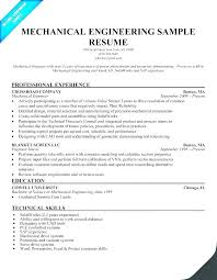 Mechanical Engineering Student Resume Download Test Engineer Sample Free Letter Templates Refrigeration Design Fancy S