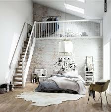 Bedroom Best Scandinavian Bedroom Ideas With Structure Brick