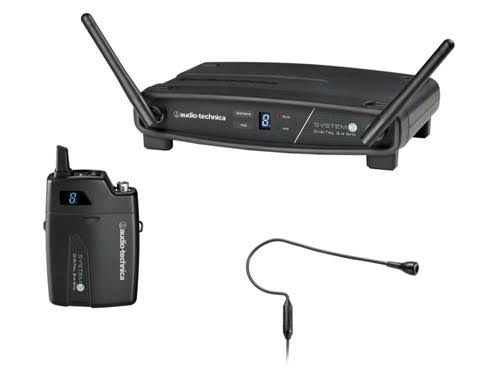 Audio Technica Wireless Headworn Microphone System