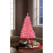 9ft Christmas Tree Walmart by Pre Lit Pink Christmas Tree Christmas Lights Decoration