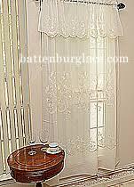 Battenburg Lace Curtains Ecru by Battenburg Lace Windows Curtains