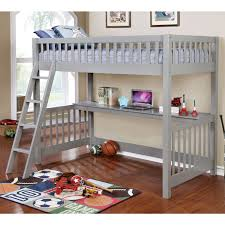 American Freight Bunk Beds by Furniture Of America Aiken Twin Twin Bunk Bed In Gray Local