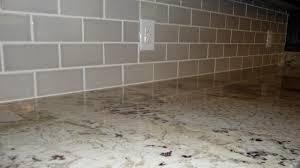 grey subway tile backsplash size of brown and white