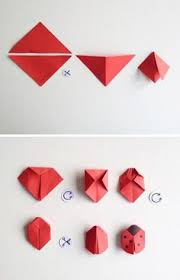 DIY Paper Origami Star See More Ahnliches Foto