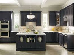 Black And Grey Kitchen Cabinets Warm
