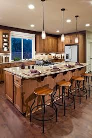 Kitchen Island With Cooktop And Seating With Kitchen Island View Kitchen Layout Kitchen