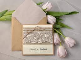 Rustic Wedding Invitations Pocketfold