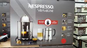 Nespresso Vertuoline With Aeroccino Plus Easy Operation Flavorful Crema Thick Froth