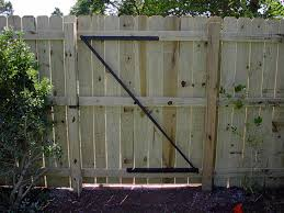 how to build a wooden gate for a privacy fence plans diy free