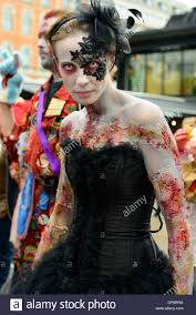 Halloween Half Mask Makeup by Favorite Halloween Costume Steampunk Zombie Lacedandwaisted