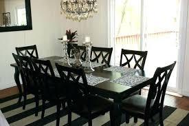 Espresso Dining Table Set Room 7 Piece Modern Wood