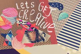 Lets Get Creative Quote Typography Art Illustration Inspiration Collage Mixed Media Urban Outfitters Style Vasarenar Diy Paper Craft Tumblr