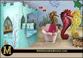 mermaid themed bathroom decorating clear