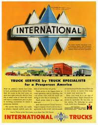 International Trucks - Vintage Ad, Featuring Triple Diamond Logo ... 2019 Intertional Hx Birmingham Al 5002332054 Truck Boyd Bros Honors Drivers With Appreciation Event Trucks For Sales Harvester Sale 1949 Kbs7 Freight Body Old Parts Southland Lethbridge Southland Intertional History Transport World Partners Lci And Ihc Hoods Fullservice Dealership