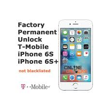 Unlock iPhone 6s Plus T Mobile