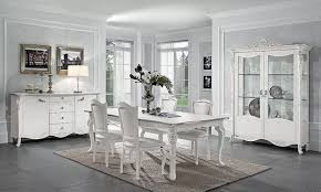 wohnzimmer esszimmer viola weiß blattsilber holzfurnier