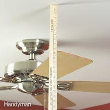 Wobbly Ceiling Fan Box by How To Balance A Ceiling Fan Family Handyman