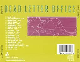 Dead Letter fice R E M Songs Reviews Credits