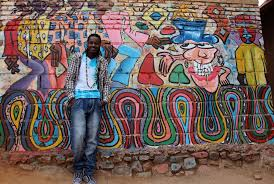 Big Ang Mural Petition by The Kigali Social Enterprise Using Public Art To Debate Social