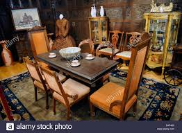 Circa 1900 Early American Dining Room Of A Home Stock Photo ... Windsor Ding Chair Fly By Night Northampton Ma Antique Early American Carved Wood With Sabre Legs Desk Side Accent Vanity 76 Astonishing Gallery Of Maple Chairs Best Solid Mahogany Shield Back Set Handmade Shaker Farm Table 72 By David S Edgerly Customer Fniture Edna Winchester Countryside Amish 19c Cherry Extendable Rockwell How To Choose For Your Custom Ochre Forcloth Forcloths Custmadecom Country Farmhouse Room Amazoncom Hardwood Xback Of 2