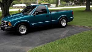 100 Chevy S10 Pickup Truck 1994 PICKUP 105 TIRE ITS A REAL SLEEPER YouTube