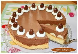 bananen schokosahne torte tanja s glutenfreies kochbuch