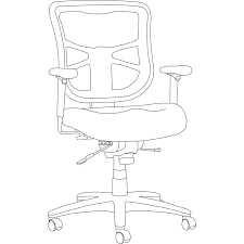 Alera Mesh Office Chairs by Alera Elusion Series Mesh Mid Back Swivel Tilt Chair By Alera