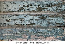 Old Painted Cracked Blue Wooden Texture Vintage Rustic Style Natural Surface Background And Stock Photo
