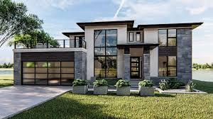 104 Contemporary House Design Plans Modern Modern Floor Cool