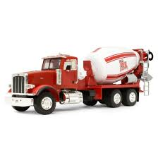 1/16th RED BIG FARM Peterbilt 367 Truck With Cement Mixer